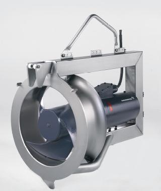 Bơm nâng mực nước chìm hoặc bơm tuần hoàn SRP